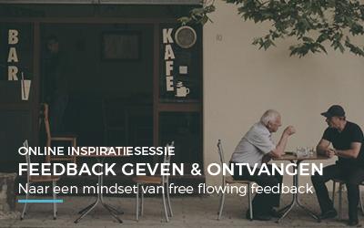 Online inspiratiesessie – Feedback geven & ontvangen