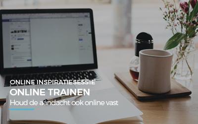 Online inspiratiesessie – Online trainen